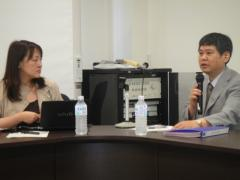 16. Lecture by Professor Masaki Miyao and Associate Professor Mari Murayama